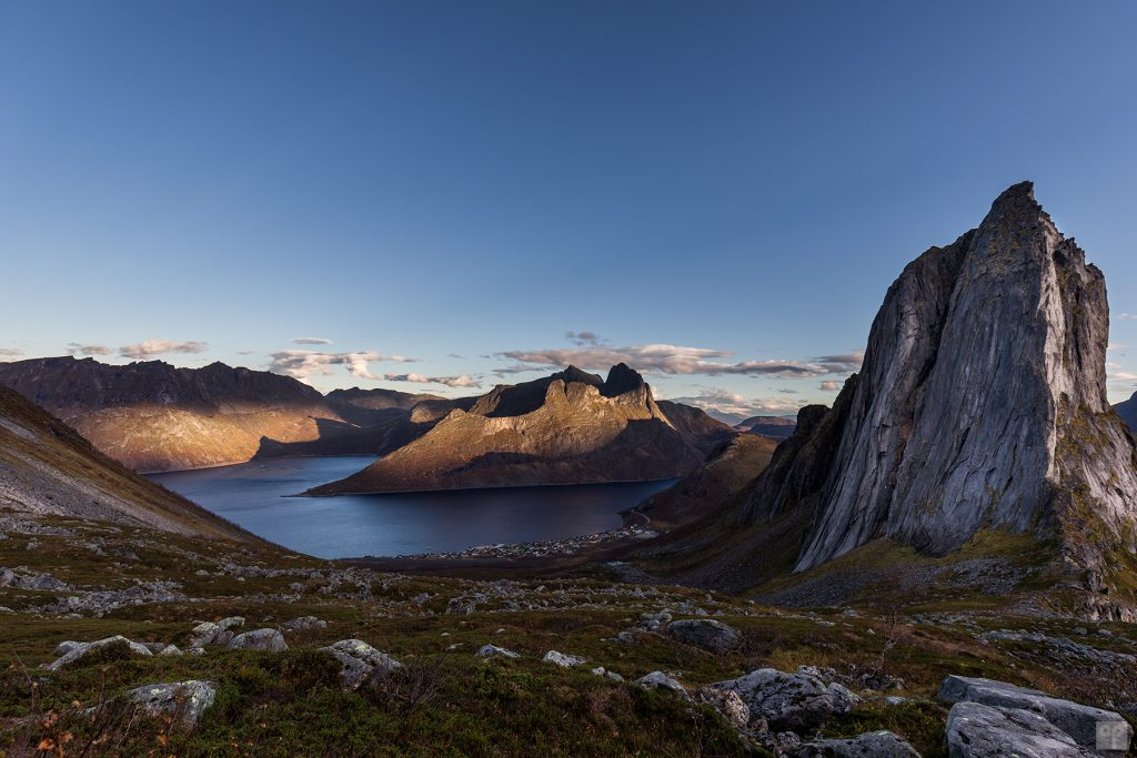 Norwegen - Senja - Segla