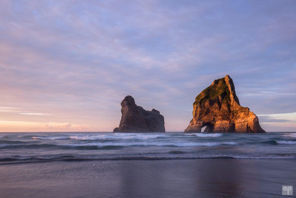 Neuseeland - Wharariki Beach