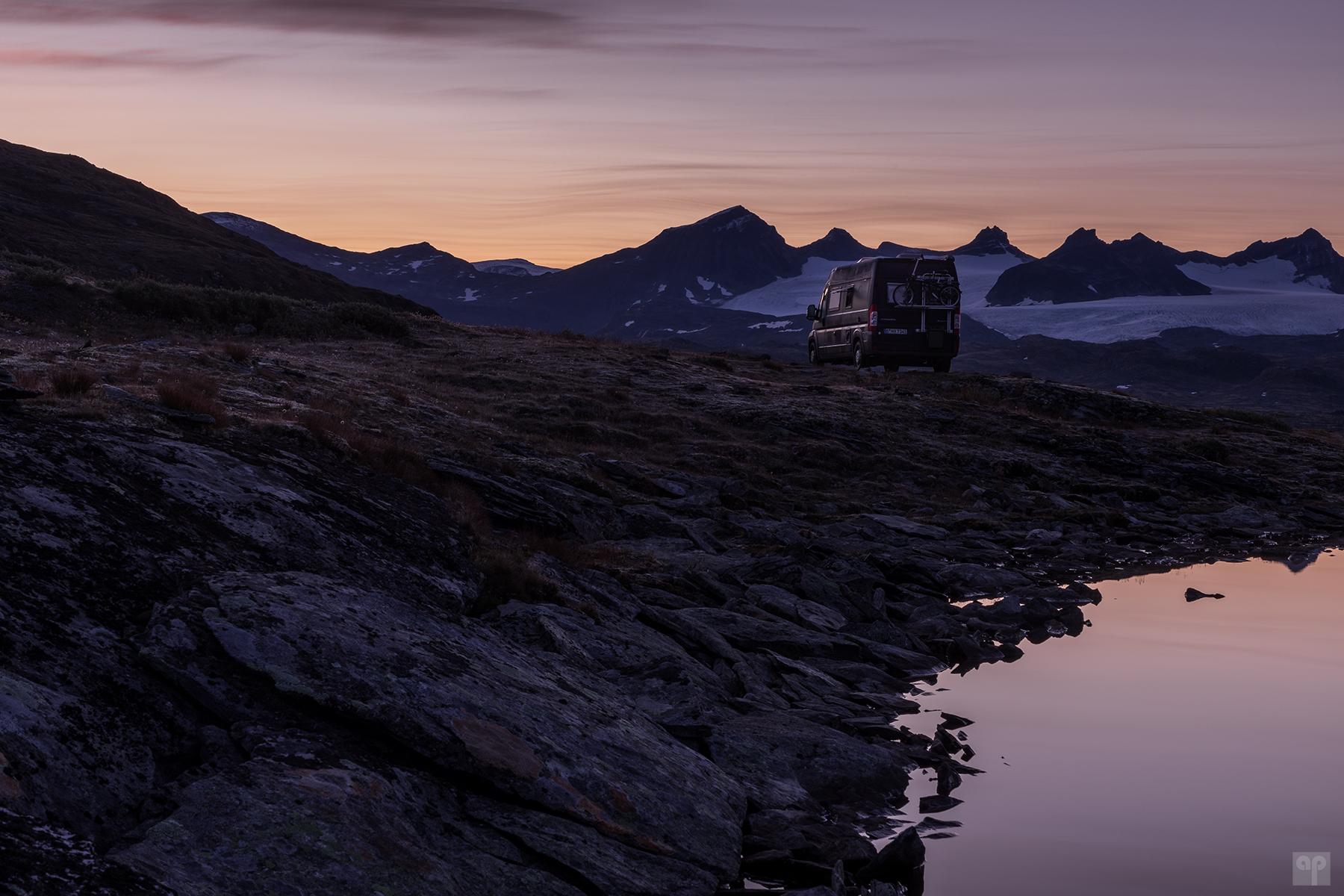 Norwegen - Sognefjellsveien