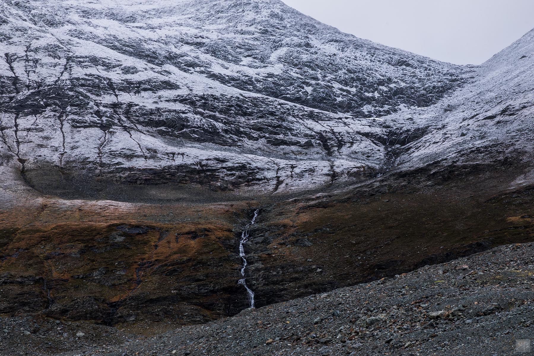Norwegen - Lyngenalpen - Steindalsbreen